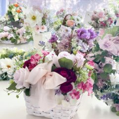社会貢献型クラファン<br>「福祉・医療へお花と笑顔を届ける」取り組み